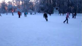 видео Хоккейные фигурные и конькобежные коньки  