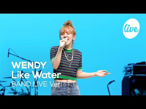"""레드벨벳 웬디(WENDY)의 """"Like Water"""" Band Ver. │ 상처를 감싸주는 웬디의 따뜻한 목소리 [it's KPOP LIVE 잇츠라이브]"""