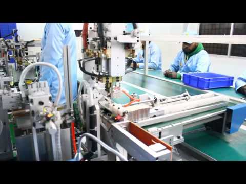Li ion battery manufacturing process