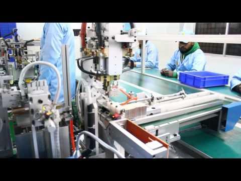 Li Ion Battery Manufacturing Process