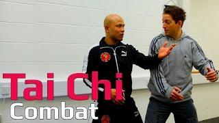 Tai chi combat tai chi chuan - tai chi 2 leg takedown. Q44