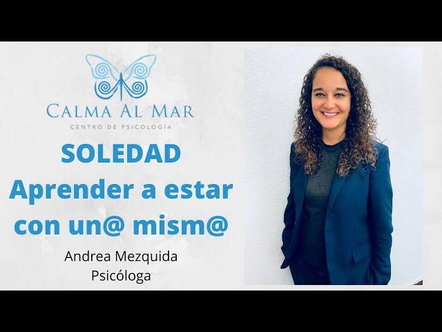 Soledad y aprender a estar con un@ mism@