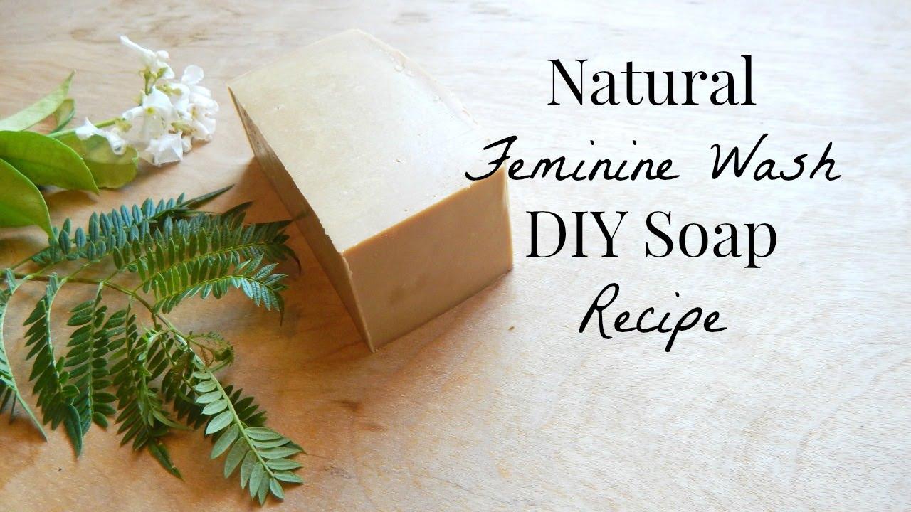 How To Make: Natural Feminine Wash Soap Diy Recipe: Vaginal Hygiene   Beginner Soaping