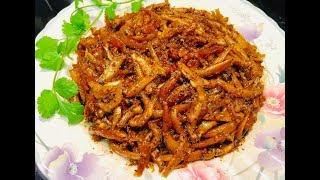 Cá cơm kho tiêu - - Bếp Nhà Nội