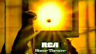 RCA projection TV 52 in' AD's (1993) HD ( in stereo) 📺🎧💡🏈📼💻📺