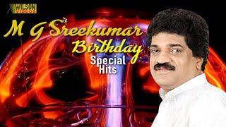 Hits of M G Sreekumar   Selected M G Sreekumar  Evergreen Hit Songs   Non Stop Malayalam Film Songs