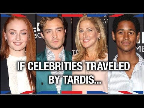 If Celebrities Traveled By TARDIS... - Anglophenia Ep 38