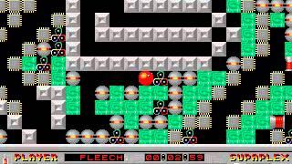 Supaplex: Original Levels: Level 111: Brainman!