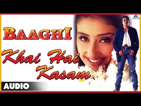 Baaghi : Khai Hai Kasam Full Audio Song   Sanjay Dutt, Manisha Koirala  