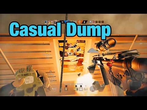 Casual Clips (Dump) - Rainbow Six Siege