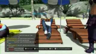 PlayStation Home 2015 Pt11 - Glittering Sands Beach