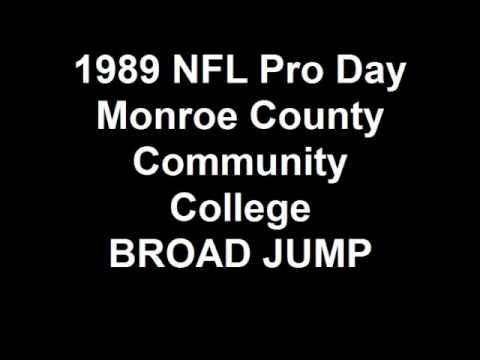 1989 NFL Pro Day Monroe County Community