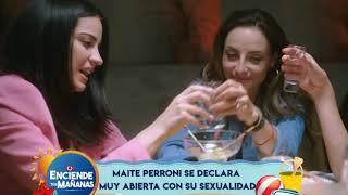 Maite Perroni se declara muy abierta con su sexualidad