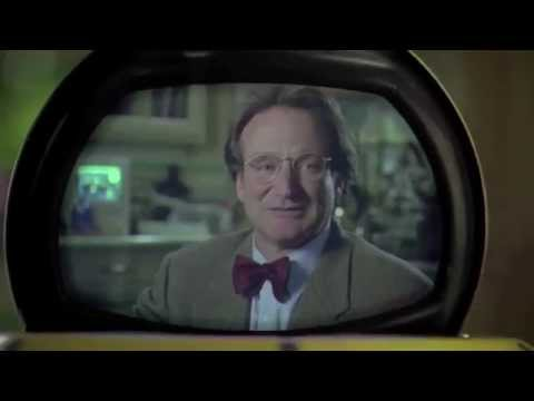 """Flubber"" Scene, Robin Williams & Marcia Gay Harden"