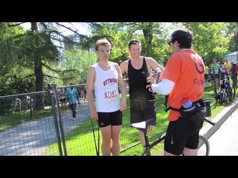 Autistic Runner Amazing 1st Marathon Mom Cam Ottawa May 2014