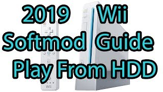 2019 Wii Softmod Guide - Play Games From HDD - P3NCE