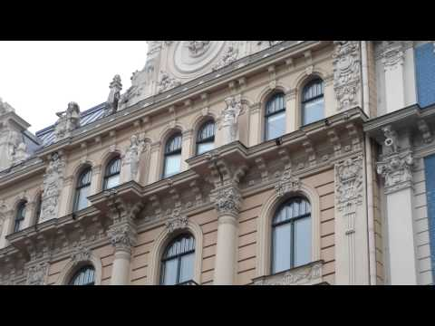 Riga - art nouveau buildings ( Latvia)