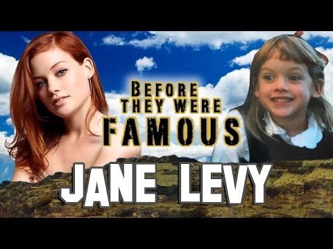 JANE LEVY - Before They Were Famous from EVIL DEAD & SUBURGATORY
