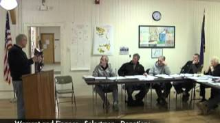 Warrant and Finance Donations - 03-09-2011