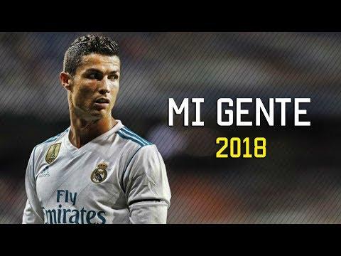 Cristiano Ronaldo - Mi Gente 2017/2018 | Skills & Goals | HD