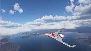 Boeing 797 Inaugural Flight