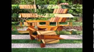 Outdoor Patio Reclining Adirondack Chair
