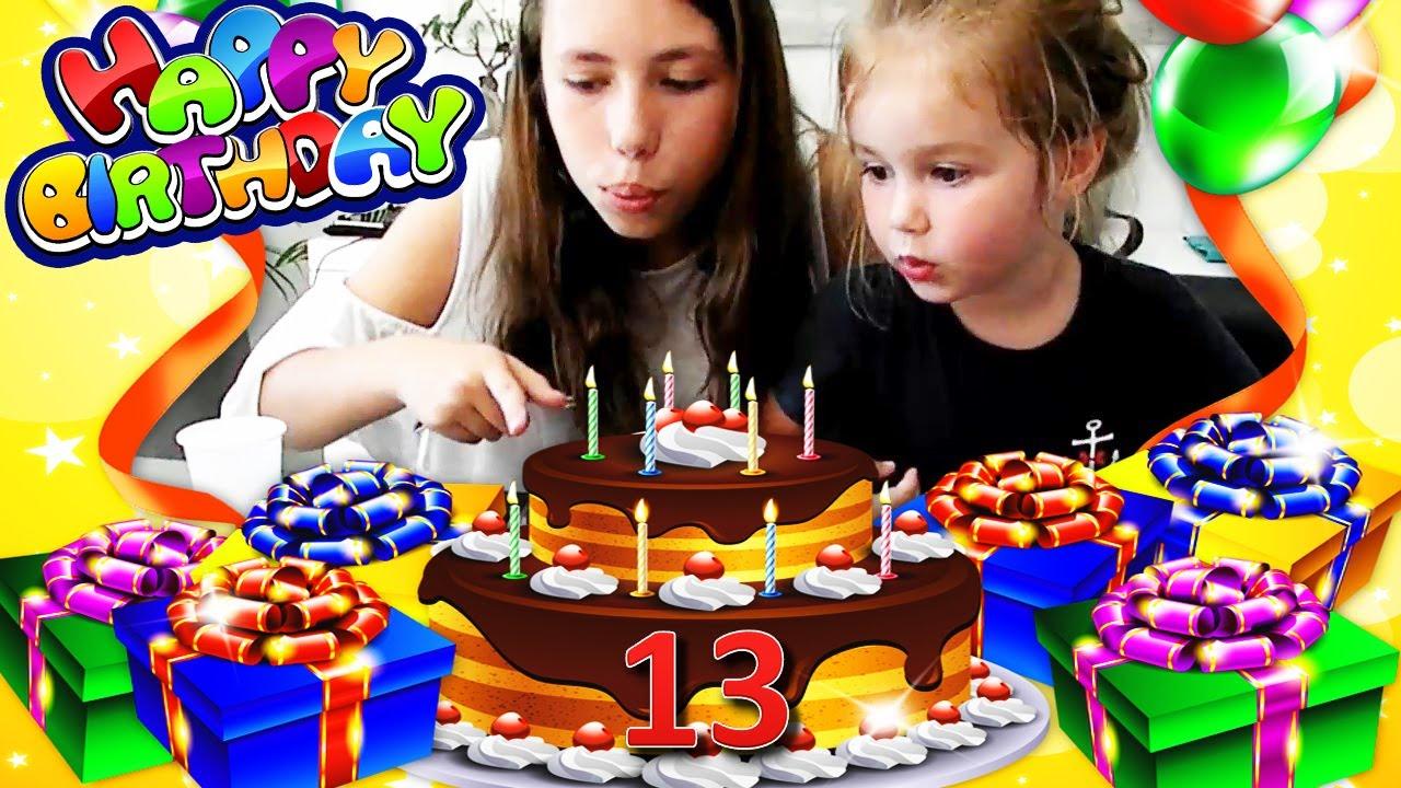 ANNIVERSAIRE • Bon anniversaire Lana 13 ans ! Happy Birthday ! - YouTube