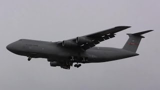 C-5 Galaxy Screaming Landing