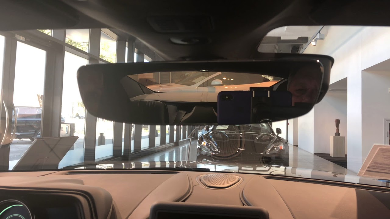 Program Garage Door Opener To Homelink Mirror In Aston Martin DB11   Aston  Martin Dallas