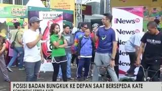 Komunitas Sepeda Kate Kota Bandung - iNews Pagi Super Sunday 22/01 | iNewsTV - News