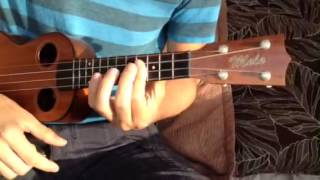 Mali Ukulele Lesson -What Does the Fox Say- intro