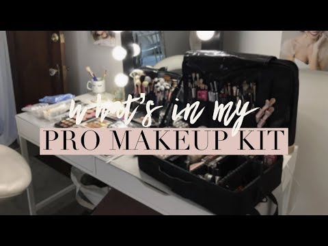 WHAT'S IN MY PRO MAKEUP KIT! | Chelsea Dae thumbnail