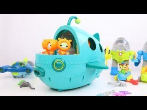 Octonauts Gup A OCEAN ADVENTURE Vehicle Playset Toy