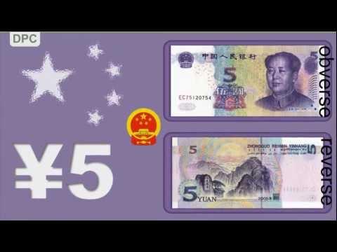 Chinese Renminbi (Yuan) - Banknotes