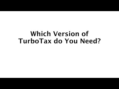 Which Version of TurboTax Do You Need? | Basic, Deluxe, Premier, Home & Business