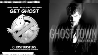 Adam Lambert & Mark Ronson, Passion Pit & A$AP Ferg - Get Ghost/ Ghost Town