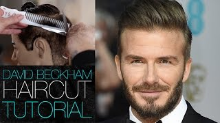 DAVID BECKHAM Haircut Tutorial - Mens Disconnected Undercut Haircut Step by Step | MATT BECK VLOG 30