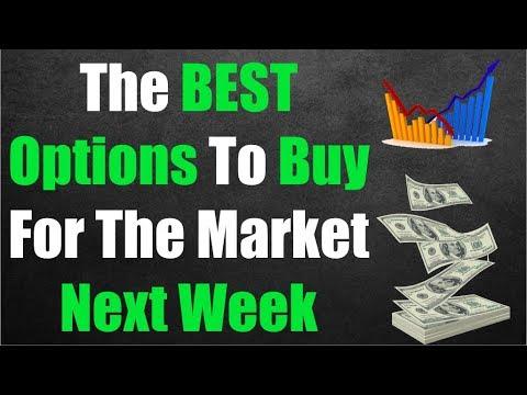 Best options to buy next week