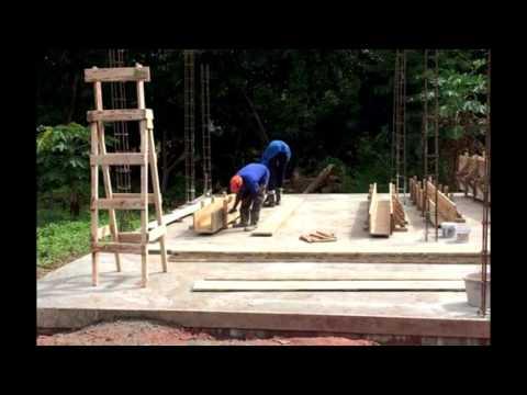 HOW WE BUILD IT IN TRINIDAD foundation