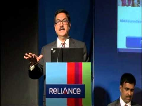 Reliance Communications AGM 2011 - 2012 - CEO Speech