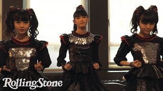 "Babymetal recently demonstrated their ""Karate"" choreography for 'Ro..."