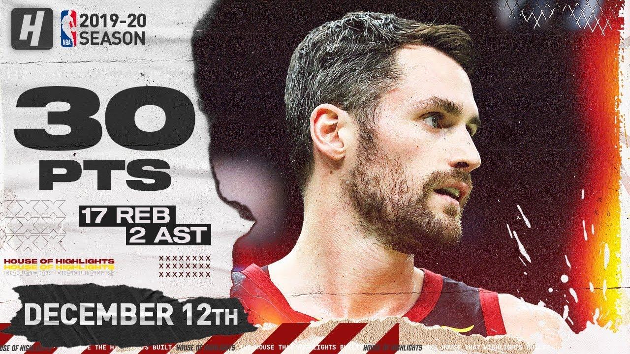 Download Kevin Love 30 Pts Full Highlights | Cavaliers vs Spurs | December 12, 2019