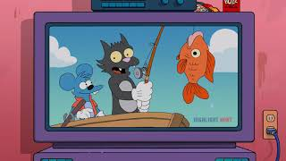 The Itchy & Scratchy Show - Cat's in the Cradle [The Simpsons - S25E05]