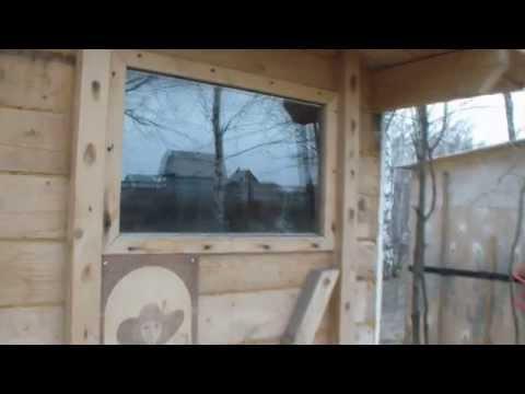 видео: Доступная, самопальная баня.
