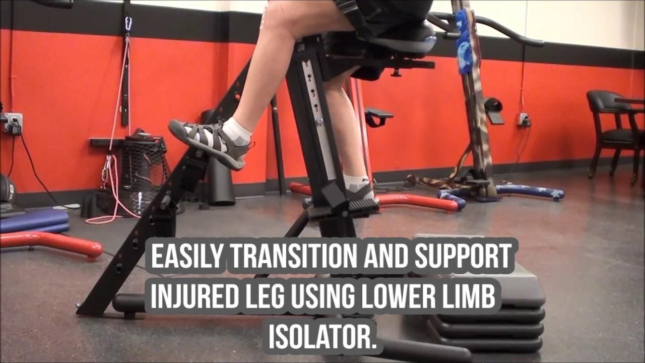 Srm Versaclimber Sports Rehab Model Youtube