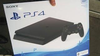 📦 Распаковка новой PlayStation 4 Slim за 15000 руб. / Модель CUH-2008A ᴴᴰ 1080p