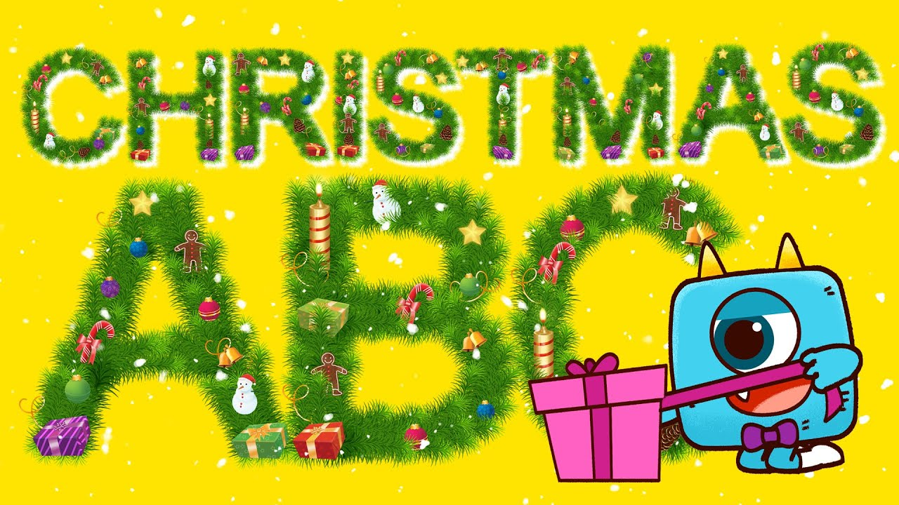 Christmas ABC Song - Monster Alphabet Nursery Rhymes ! Learn English with ZooZooSong