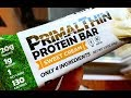 Primal Thin® Protein Bar Review: 4 Ingredients : 1g Sugar : 20g Organic Protein : 1 Net Carb