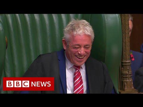 Boris Johnson Pays Tribute To Speaker John Bercow - BBC News