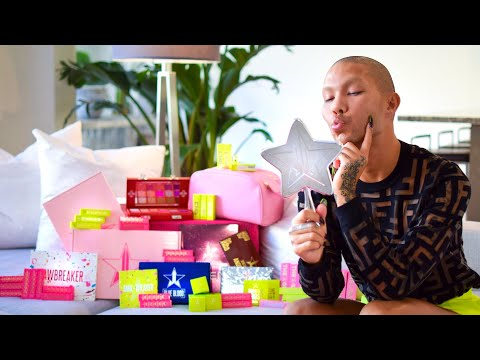FIRST EVER UNBOXING with My Dogs - Jeffree Star Cosmetics | Kimora Blac thumbnail